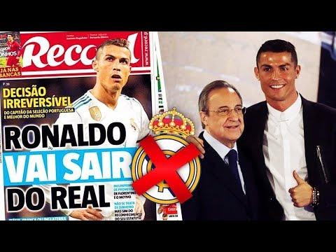 RONALDO QUITTE OFFICIELLEMENT LE REAL MADRID !? #LN