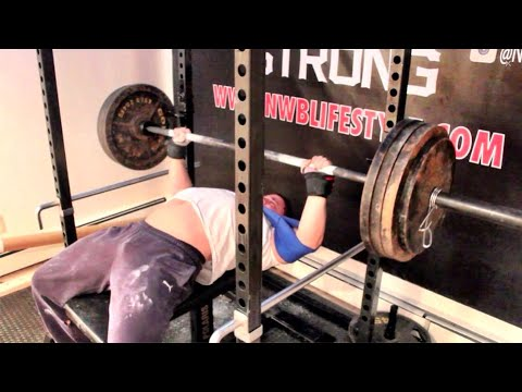 315 Bench For 5 Reps | SlingShot Bench 385lbs