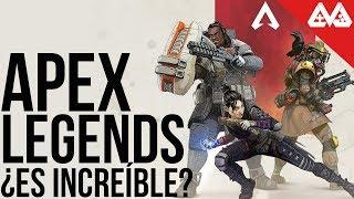 Apex Legends es... ¿Increíble?    Un Battle Royale que no es del montón