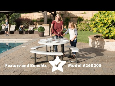 260205   Round Picnic Table