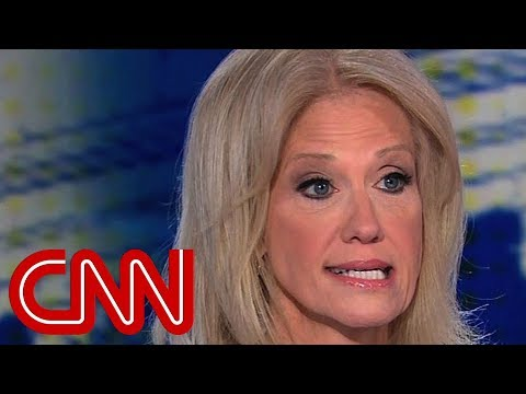 Anchor, Conway spar over husband's tweets