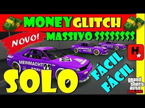 GTA 5 GLITCH DUPLICAR CARRO SOLO (XB1/PS4/PC) MASSIVO💲EASY SOLO MONEY GLITCH (Unlimited Money) V1.43