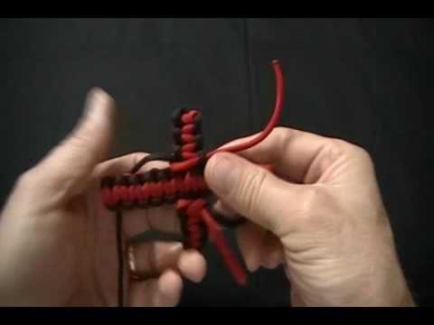 paracord cross 2 colors 2 strands (2).wmv