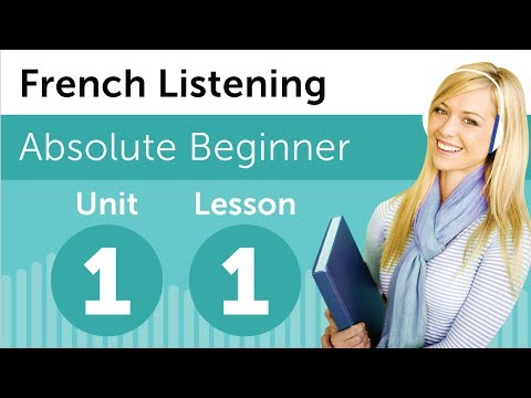 Learn French - French Listening Comprehension - At a French Bookstore