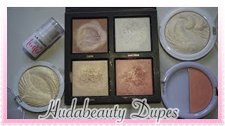 Hudabeauty highlighter Dupes Affordable & locally available in market || Nishoo khan