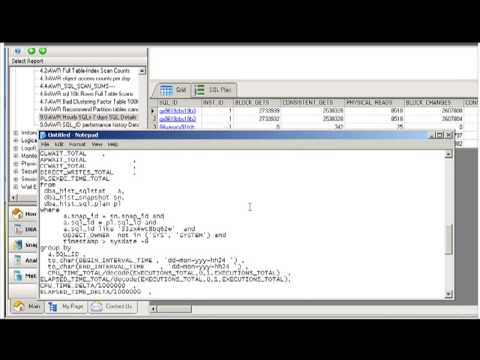 Oracle Database Health Check - Part I