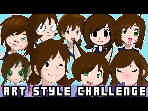 10 ART STYLE CHALLENGE!