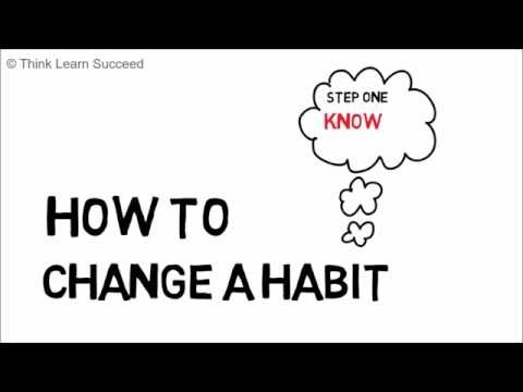 How to change a habit