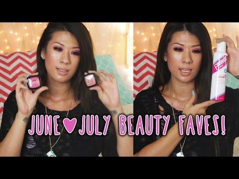 June July Beauty Favorites 2014