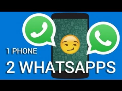 double whatsapp in one phone in hindi    how to use dual whatsapp account in one phone