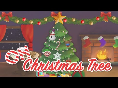 Silly Christmas Song for Kids - Oh Christmas Tree (with an OCTOPUS!)