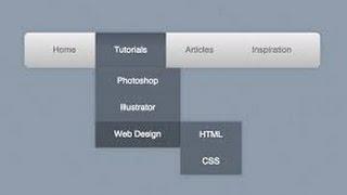 How to create Dropdown Menu/Navigation Bar in Html and CSS (Hindi/Urdu)