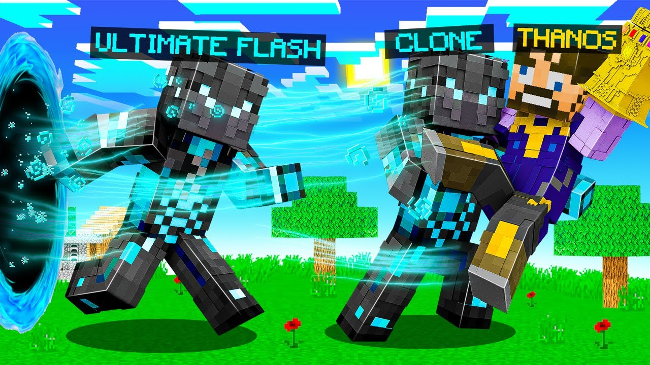 Making ULTIMATE FLASH Armor in Insane Craft