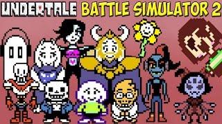Undertale - Battle Simulator 2 | Лучший симулятор и битва с Chara