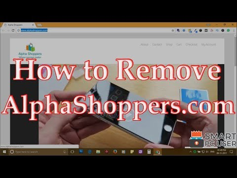 How to Remove AlphaShoppers.com from All Browsers (Chrome, Firefox, Edge, IE)