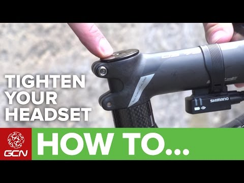 How To Tighten Your Headset | Road Bike Maintenance