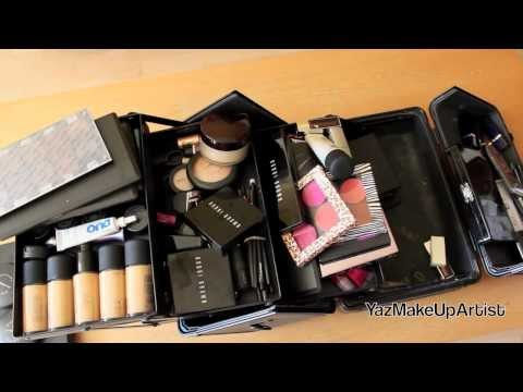 What's In My Professional Makeup Kit/Traincase For Freelance Work