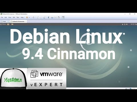How to Install Debian 9.4 Cinnamon + VMware Tools + Review on VMware Workstation [2018]