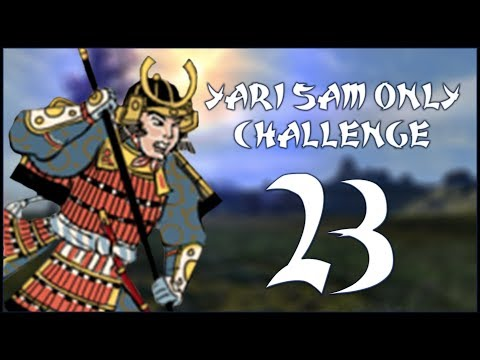 END OF THE TOKUGAWA - Date (Legendary - Challenge: Yari Samurai Only) - Total War: Shogun 2 - Ep.23!