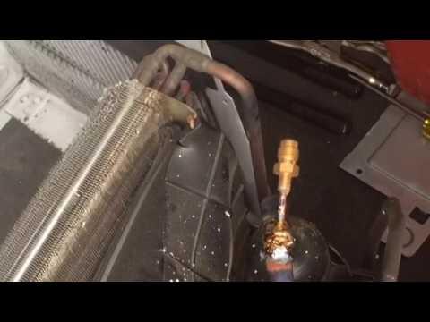 Window unit leak repair