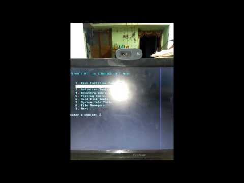 how to break password with hiren boot cd