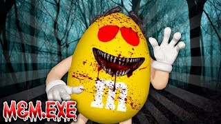 SCARIEST M&M CANDY .EXE | Minecraft Little Kelly | BUILD CHALLENGE