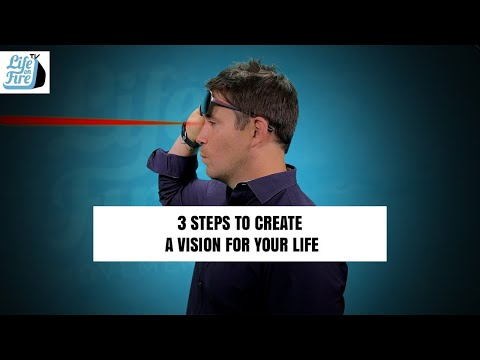 3 Steps to Create a Vision For Your Life