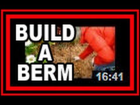 Build A Berm - Wisconsin Garden Video Blog 551