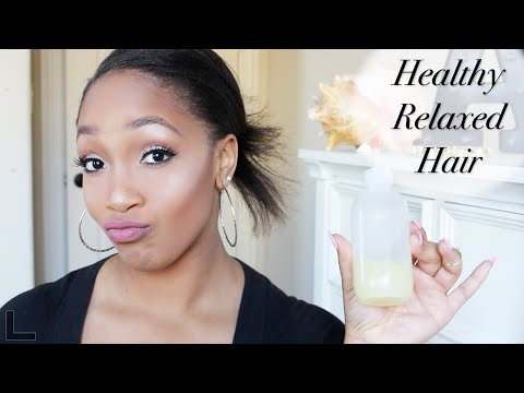 Tips for Healthy Relaxed Hair: Moisturize and Seal