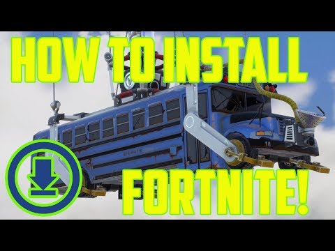 Differences between Fortnite games & How to Install Fortnite on PC
