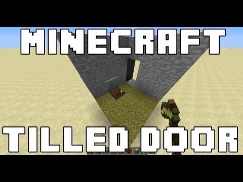 Minecraft Tilled Soil Door
