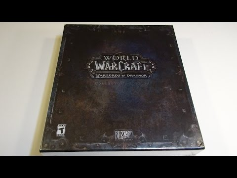 Unboxing: Warlords of Draenor Collector's Edition (World of Warcraft expansion)