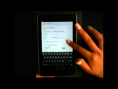 Setup Student Email in Android [Providence College IT Help Videos]