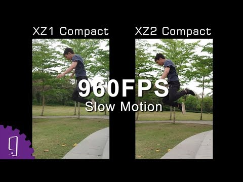 Sony Xperia XZ1 Compact vs XZ2 Compact Camera Quick Review | 960fps Review