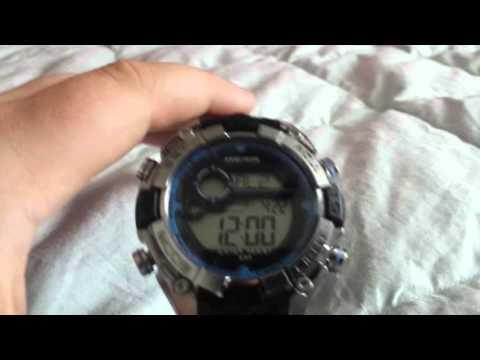 Armitron M1020 Watch tutorial.