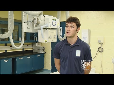 French Veterinary Student Studying Zoological Medicine At Pittsburgh Zoo