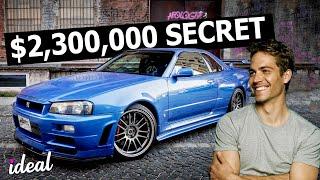 Paul Walker's INSANE 2.3 Million Dollar Car Collection