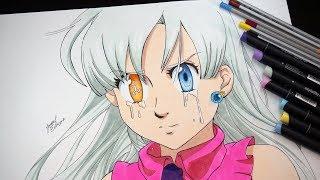 Como Desenhar E Colorir Elizabeth Nanatsu No Taizai How To Draw