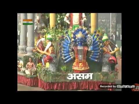 jhaki of aasam in delhi 26 january 2018 as republic day