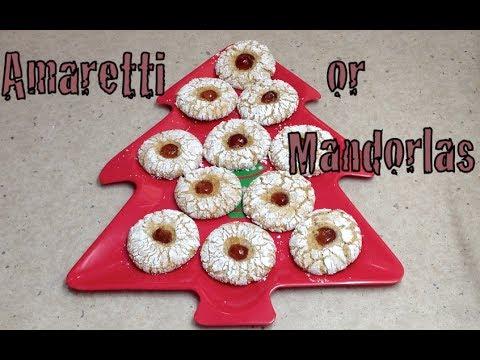 Amaretti Biscuits Mandorlas cheekyricho tutorial