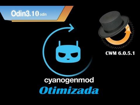 CyanogenMod11 Otimizada, Odin 3.10.6, CWM 6.0.5.1