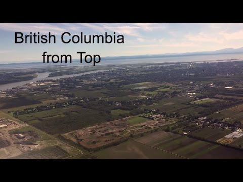 British Columbia (Canada) from above