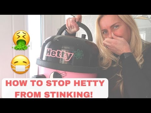 How to STOP Hetty the hoover from Stinking- smelling! & Dyson vacuum! Toni Interior