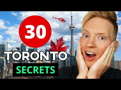 30 Hidden Secrets & Best Places in Toronto