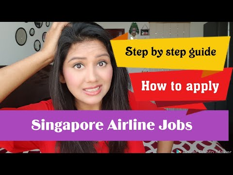 How to apply? Singapore airline jobs, Step by Step guide to apply by Mamta Sachdeva