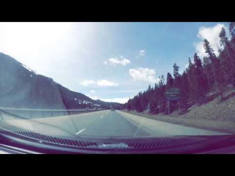 Denver to Vail Time Lapse