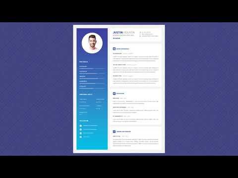 Free Professional Resume Template - Bright Future