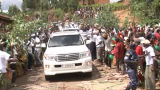 Pierre Nkurunziza comes back to Bujumbura after failed coup attempt