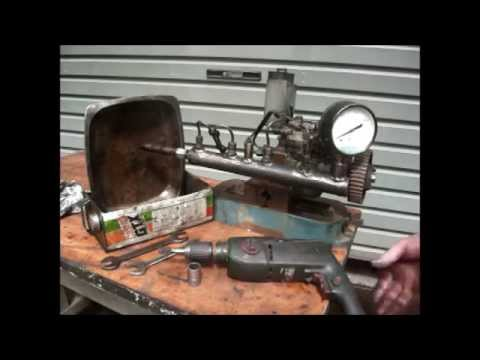Homemade Diesel Injector Tester