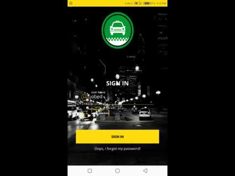How To Use Naija Taxi Driver Application